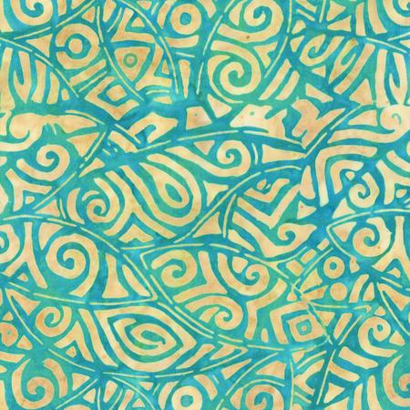 Baum Rayon Batik 502Q-1 Ocean