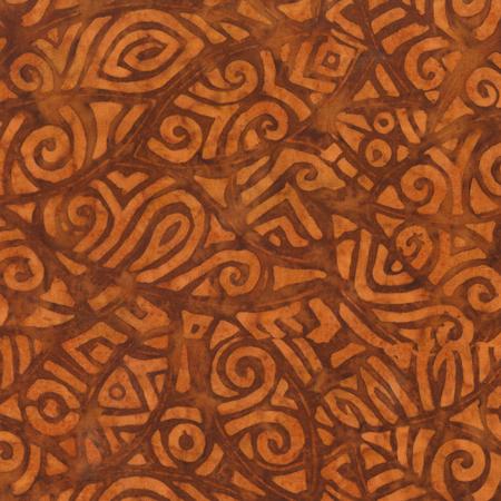 Baum Rayon Batik 502Q-3 Caramel