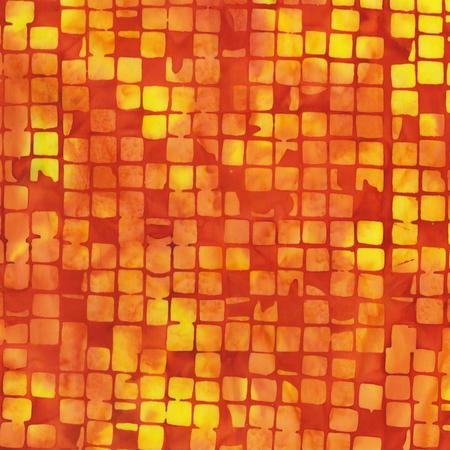 Specialty: Checkerboard Chic - Flame Batik (#7069)