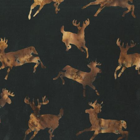 Novelty: Northwoods Brown Batik
