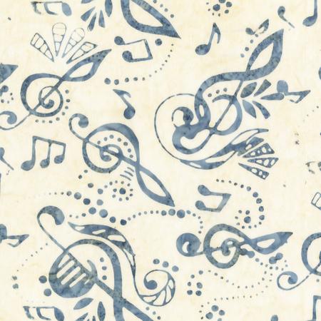 Rhythm of the Night-Music Notes-White
