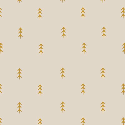 Autumn Vibes Simple Defoliage Gold Trees ATV-87202