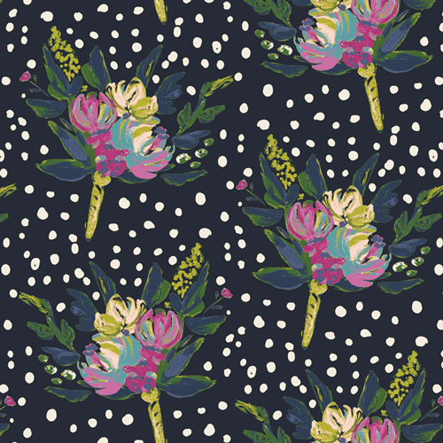 BLB 44720 Bloomsbury West End Blooms for Art Gallery Fabrics. 100% cotton 43 wide