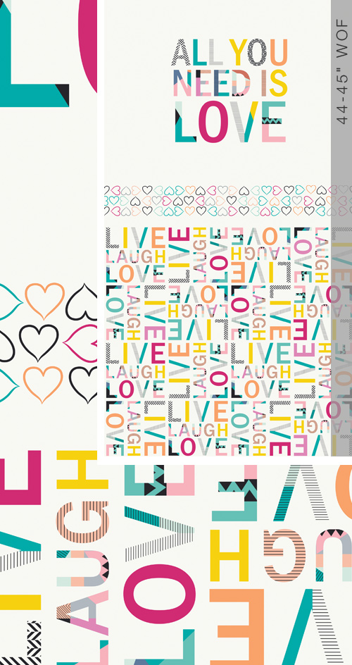 Letters All You Need is Love Panel 61