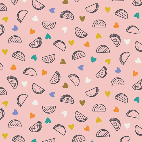 Art Gallery Fabrics Cotton - Taco Love Bright