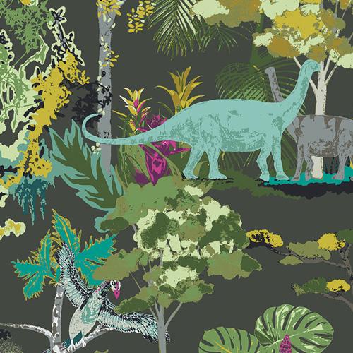 Dinosauria - Art Gallery Cotton