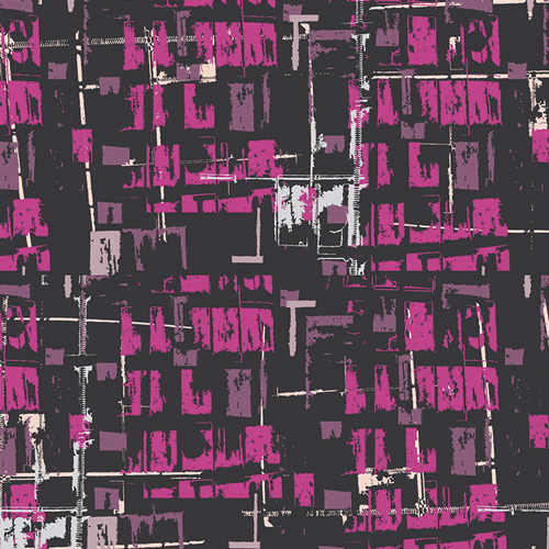 FUS CL 903 Tuner Tumble City Fusion for Art Gallery Fabrics. 100% cotton 43 wide