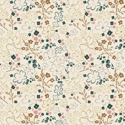 FUS SK 1301 Liten Ditsy Sparkler Fusion by Pat Bravo for Art Gallery Fabrics. 100% cotton 43 wide