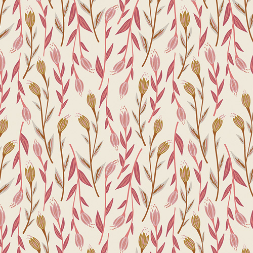 Whispers Inbloom Sweetplain Knit Fabric