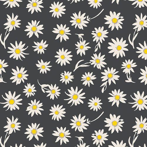Art Gallery Fabrics Cotton Stretch Jersey - Flower Glory Evening 58