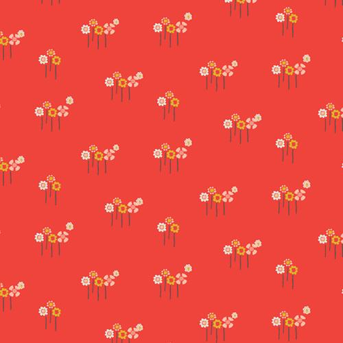 Dew & Moss Daisy Button Buds knit