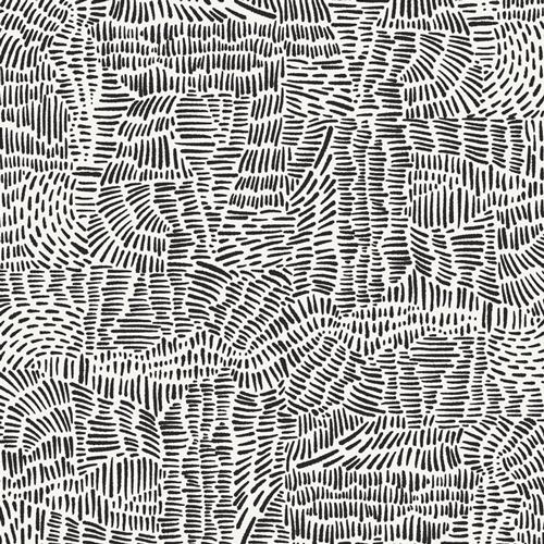 Rayon Prints : Everlasting Imprint (White)
