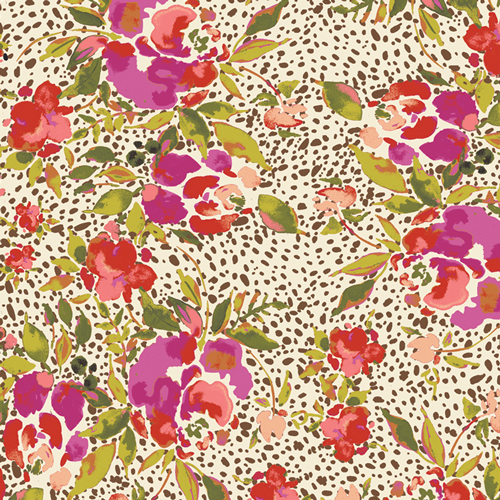 R-85848 Manhattan's Foliage RAYON from 365 Fifth Avenue by Bari J. Art Gallery Fabric
