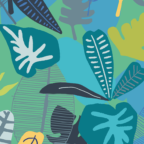 Jungle Tropicale - Art Gallery Cotton