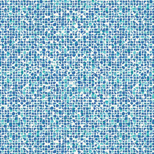 Plash Mosaic Azure