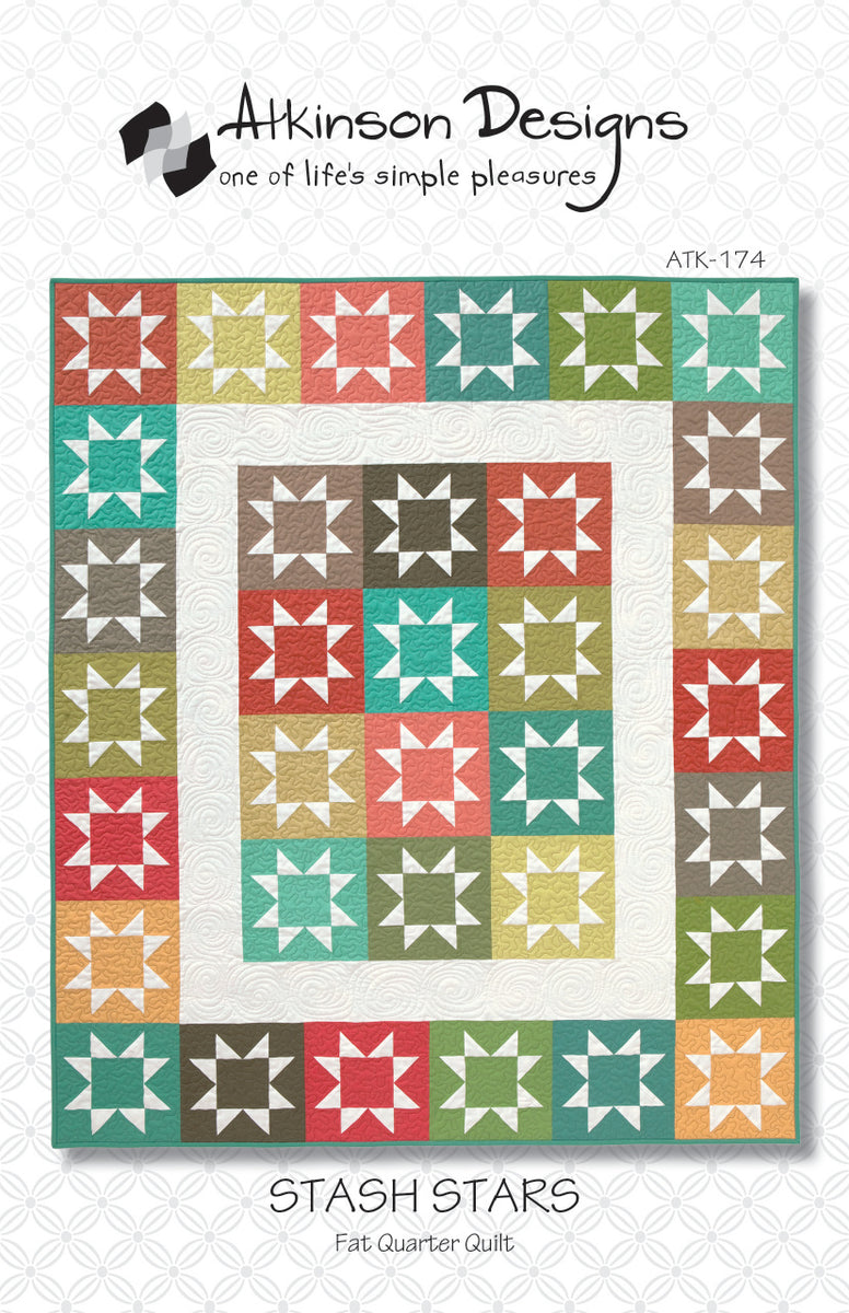 Stash Stars Pattern - Atkinson Designs