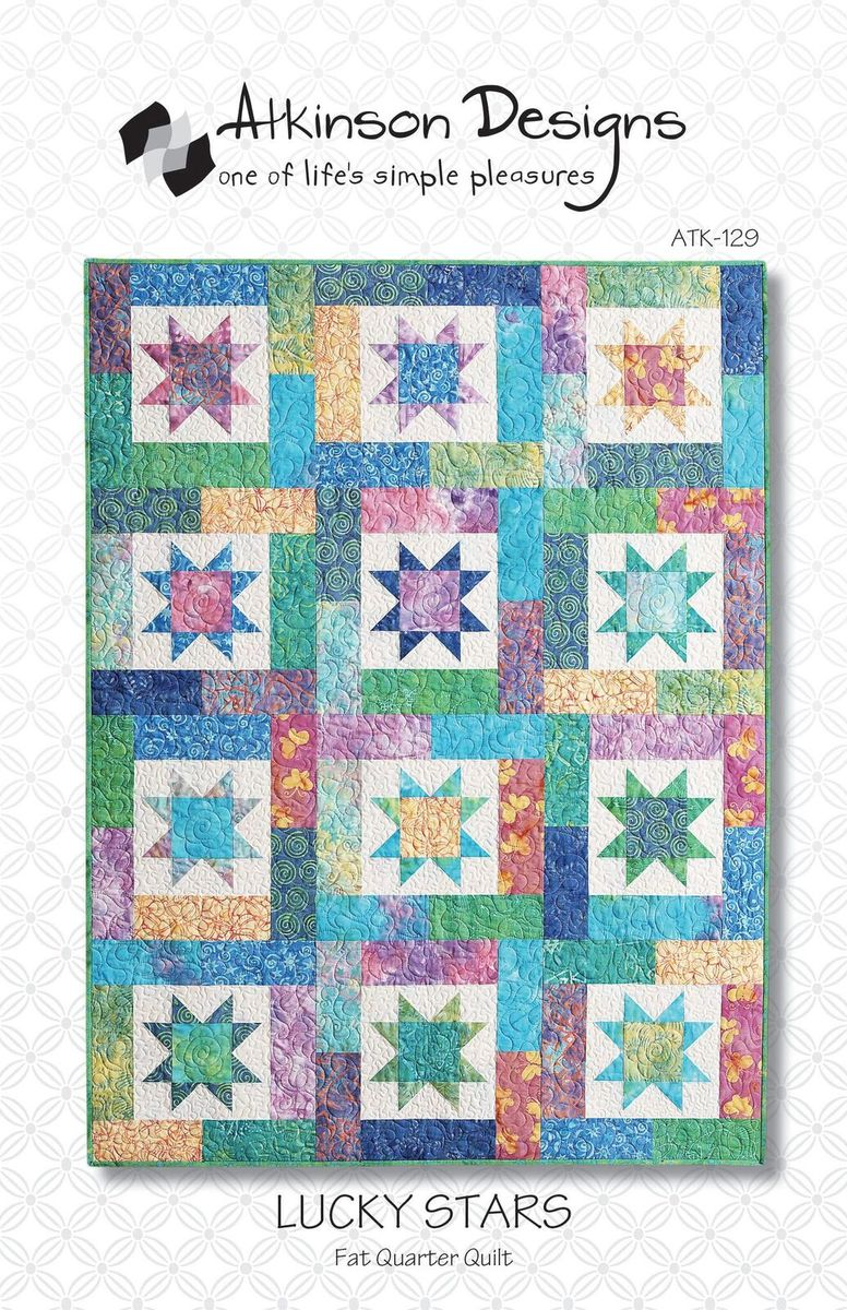 Lucky Stars Pattern - Atkinson Designs