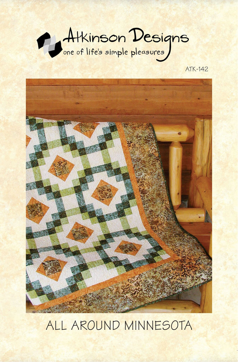 All Around Minnesota Pattern - Atkinson Designs