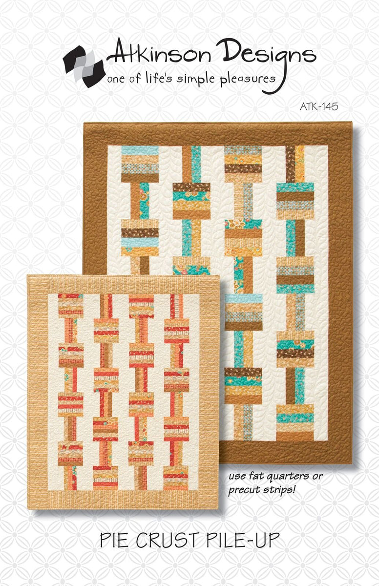 Pie Crust Pile-Up Pattern - Atkinson Designs