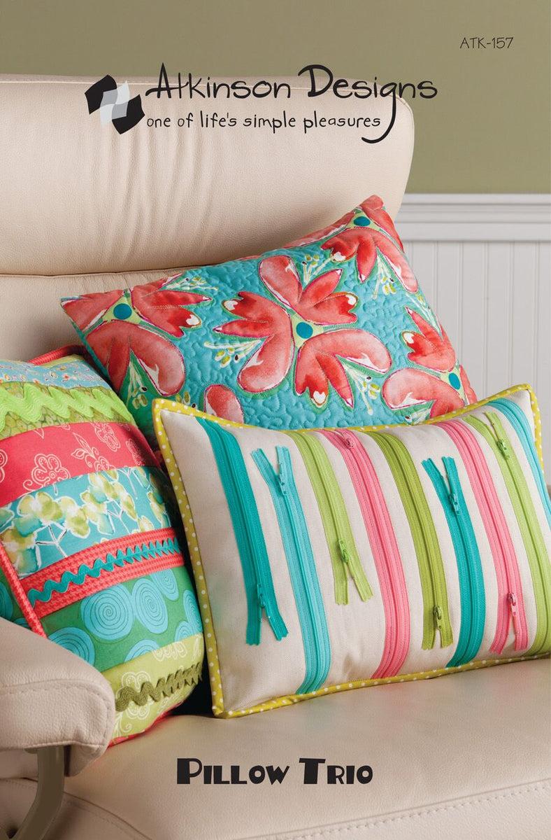 Pillow Trio Pattern - Atkinson Designs