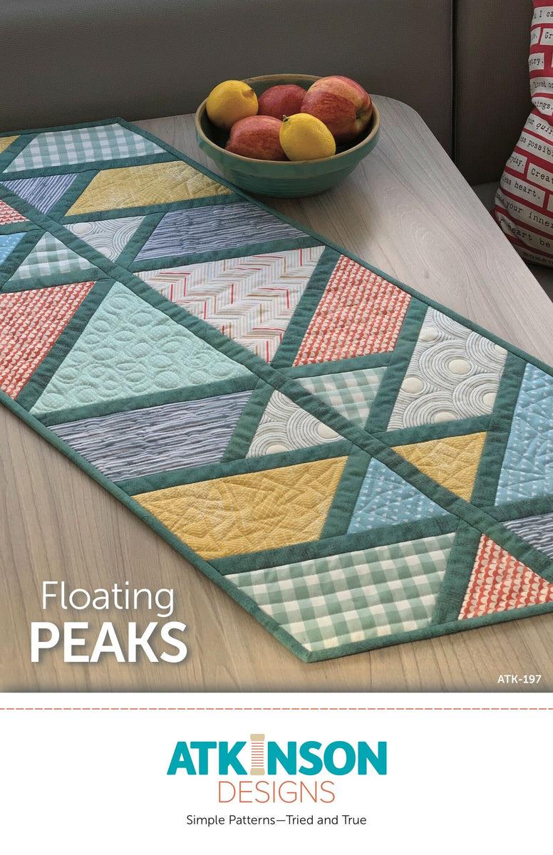 Floating Peaks Pattern - Atkinson Designs