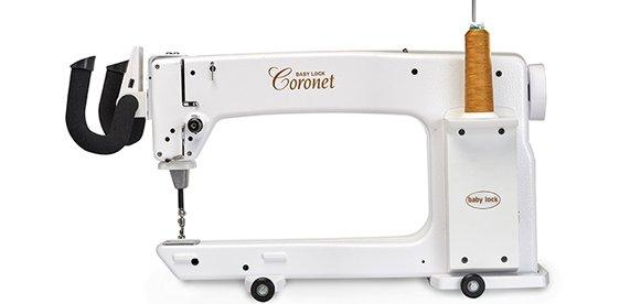 Coronet 16 Long Arm Machine and Frame