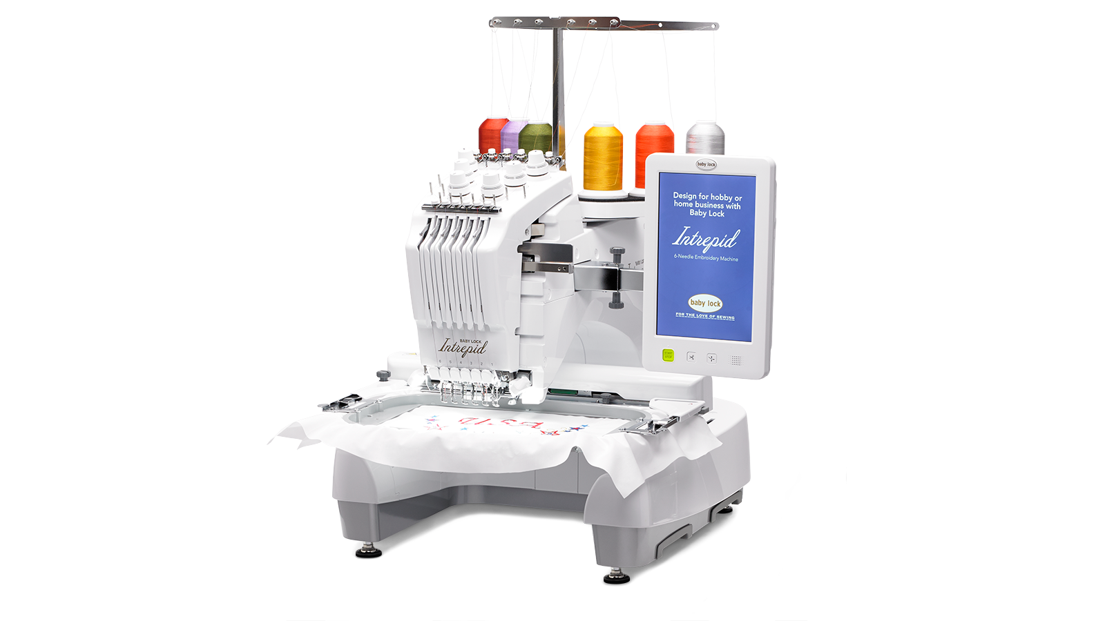Intrepid - Multi-needle-embroidery Machine