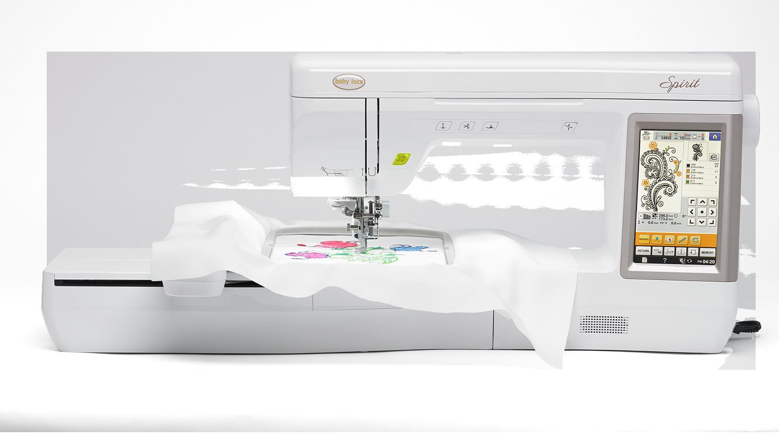 Spirit Embroidery Machine