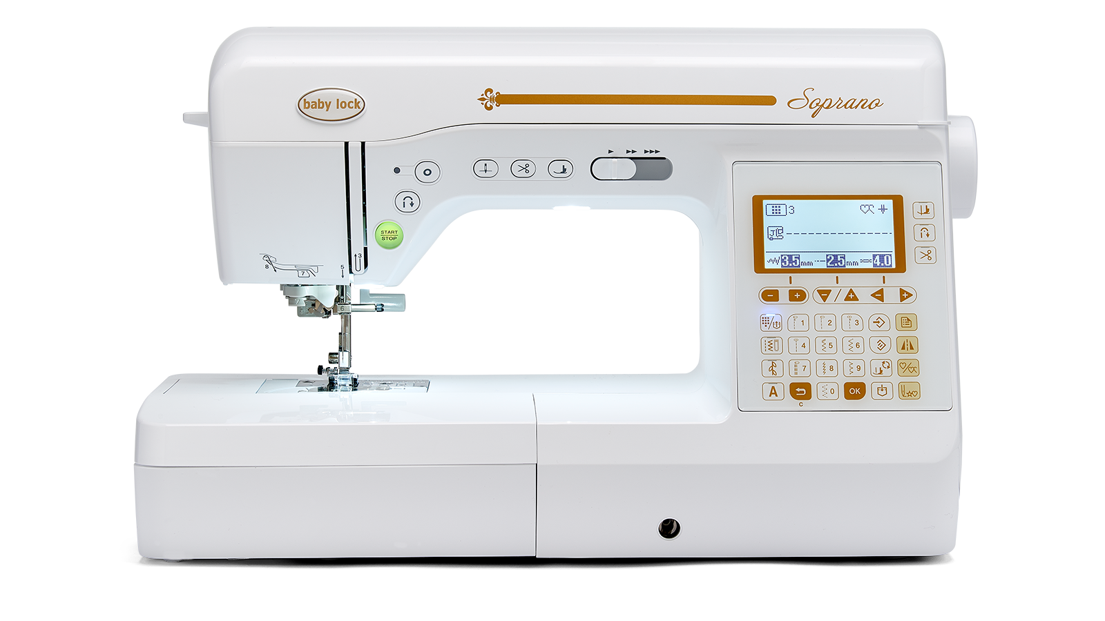 BabyLock Soprano - Sewing & Quilting Machine - In Stock Now!