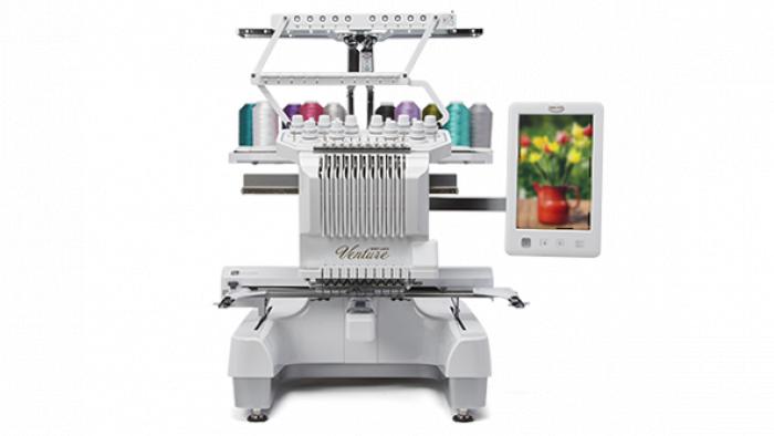 Venture 10 Needle Embroidery Machine