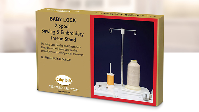 Babylock 2-Spool Sewing and Embroidery Thread Stand  BLMA-STS