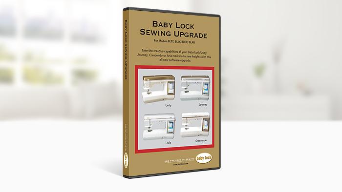 BABY LOCK SEWING MACHINE UPGRADE
