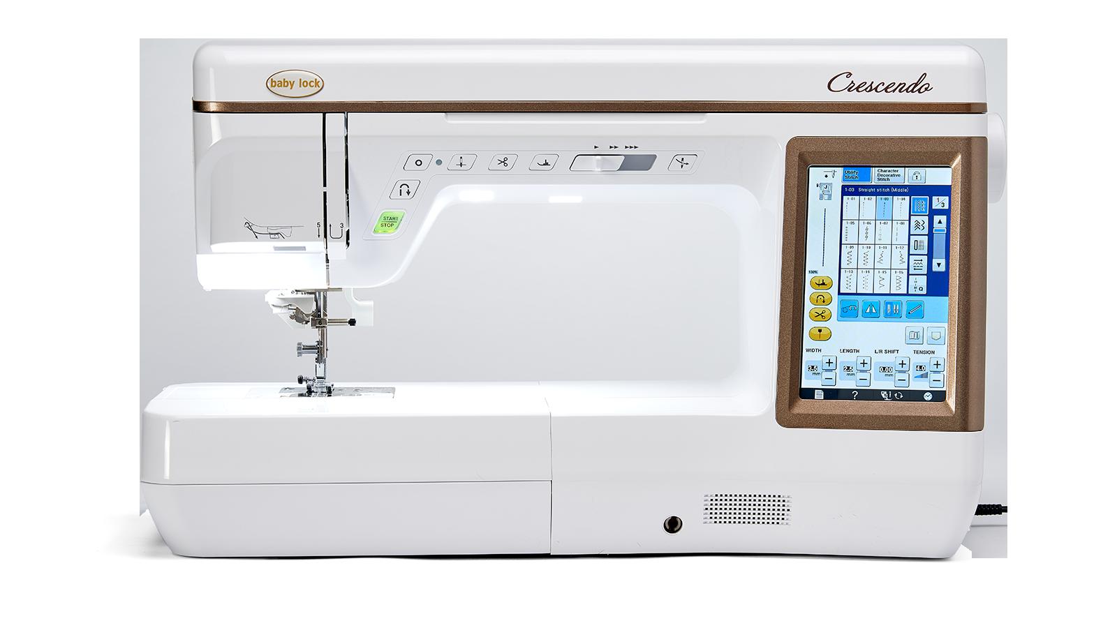 Baby Lock Crescendo - Sewing & Quilting Machine - BLCR