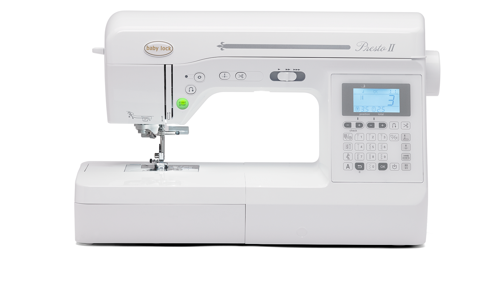 Presto II - Quilting Machine