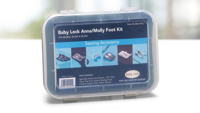 Baby Lock Anna Molly Foot Kit