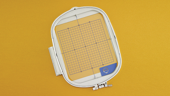 Embroidery Hoop and Grid 8 x 8 - Hoops Acccessory EF91 BABYLOCK