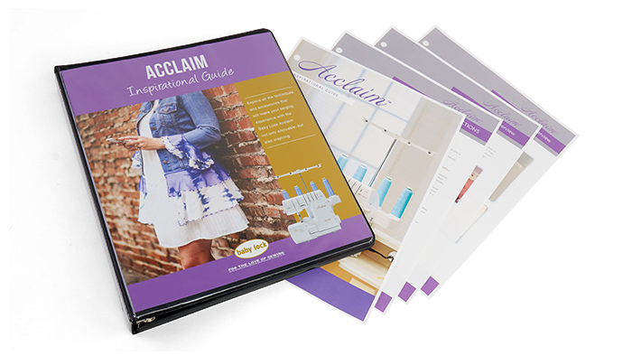 Baby Lock Acclaim Inspirational Guide