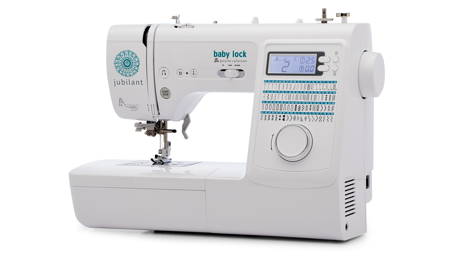 BABY LOCK JUBILANT SEWING MACHINE BL80B