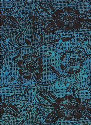Malibu Medley Blue Batik
