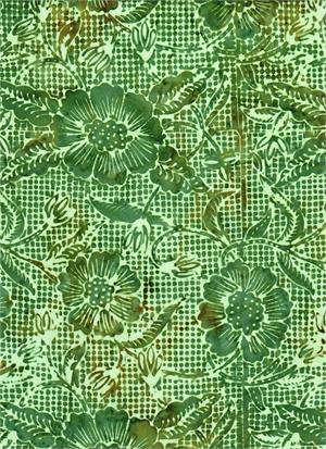 Batik Textiles Batik Blenders - Green