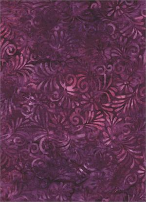 Batik Burgandy 4310