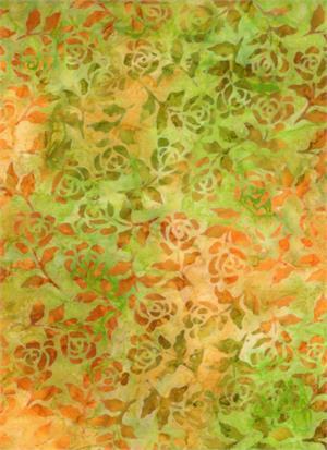Batik Gold/Green 4320