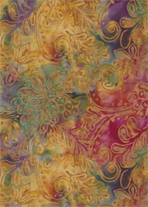 Batik, Batik Textiles, Color Envy 4409