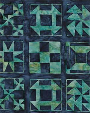 American Quilt Blue