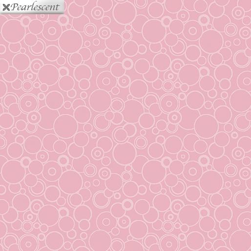 Benartex Lilyanne 10069P-20 Circles Pink