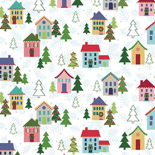 Christmas Village White 10170-09