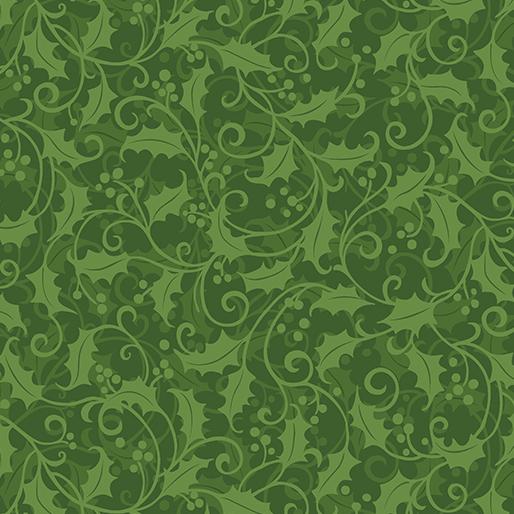 Holly Swirl Green