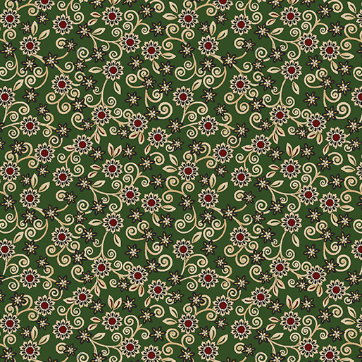 Quilter Panel Prints - Lititz Green