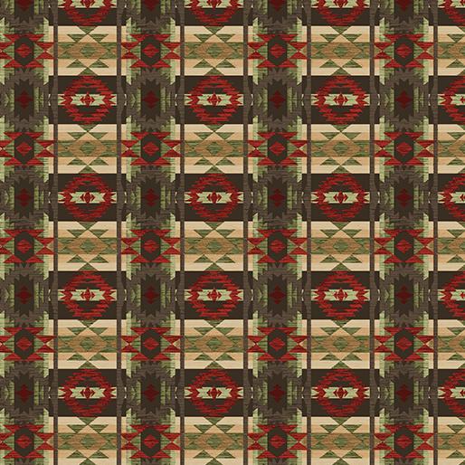 Rustic Blanket Brown