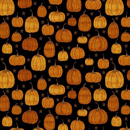 Rustic Pumpkin Black 1837-12